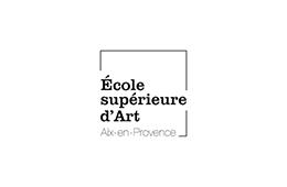 Logo école supérieure d'art d'Aix-en-Provence